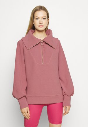 VINE HALF ZIP - Sweatshirt - nostalgia rose