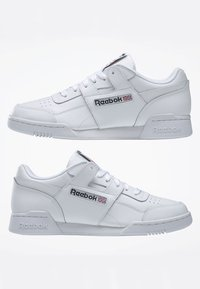 Reebok Classic - WORKOUT PLUS SHOES - Trainers - white - 8