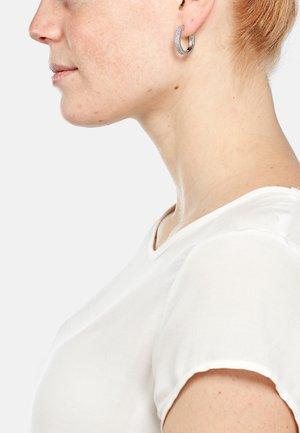 RICA - Earrings - silberfarben poliert