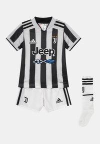 adidas Performance - JUVENTUS TURIN H MINI SET UNISEX - Pelipaita - white/black - 0