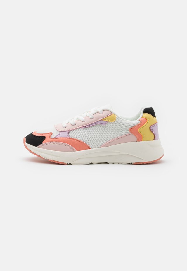 Sneakers laag - white/multicoloured