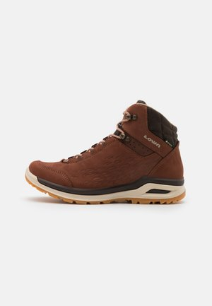LOCARNO GTX - Hiking shoes - mahogany