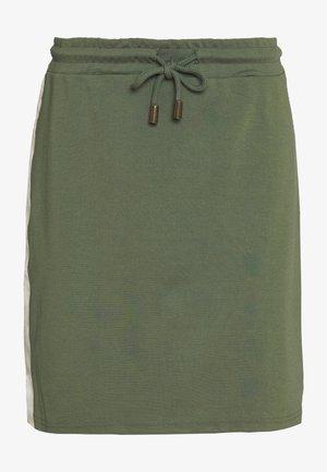 MLTINE BLACKIE SKIRT - Minifalda - laurel wreath/birch/sesame