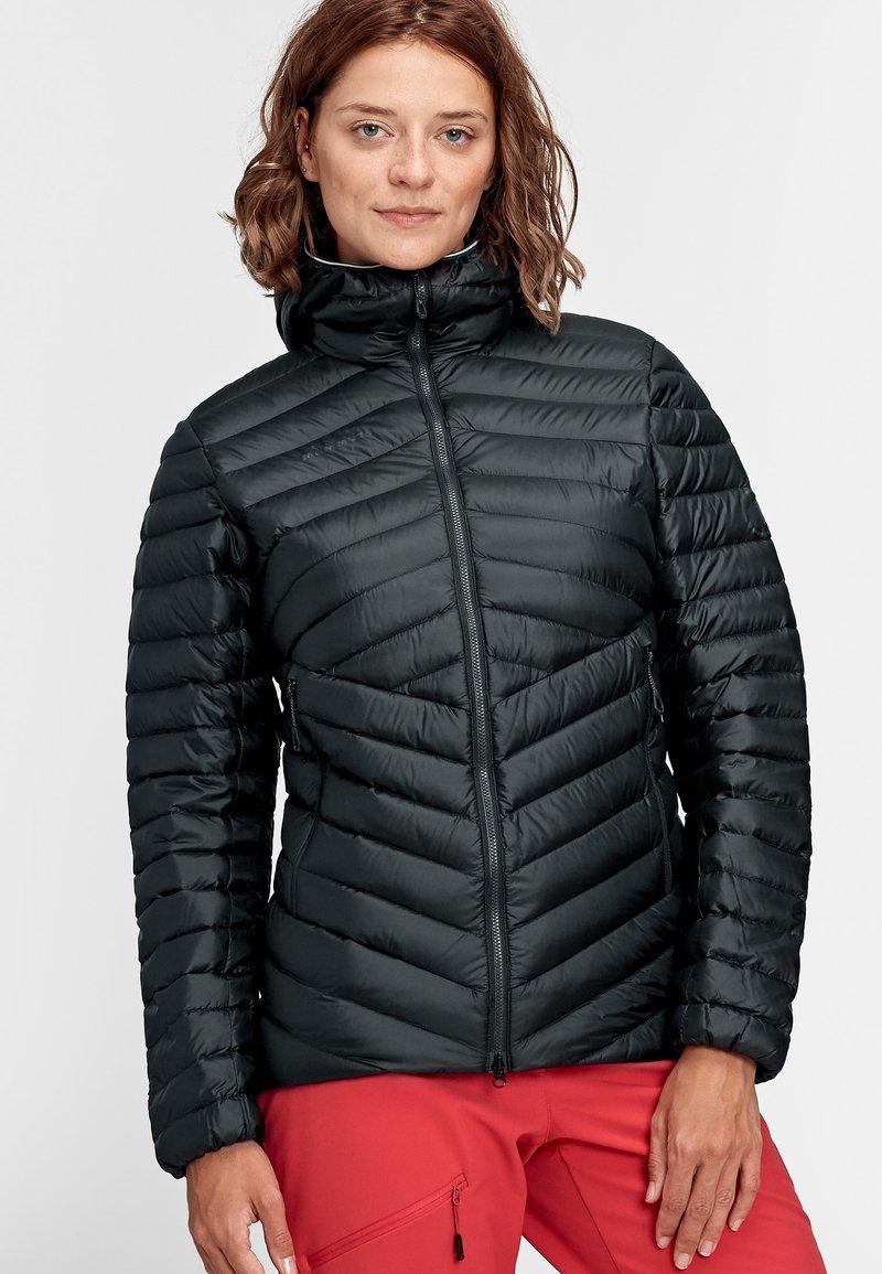 Mammut - Down jacket - black-phantom