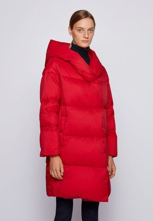 Down coat - red