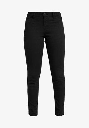 MID RISE - Jeans Skinny - black