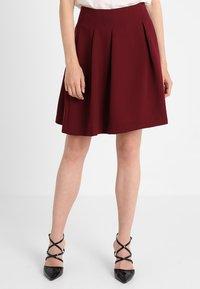 mint&berry - A-line skirt - bordeaux - 0