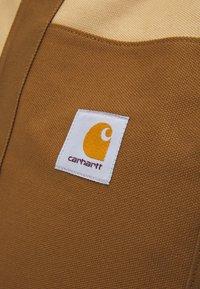 Carhartt WIP - WORK TOTE UNISEX - Velika torba - hamilton brown/dusty brown - 3