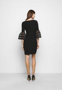 Lauren Ralph Lauren - MID WEIGHT DRESS - Jersey dress - black - 2