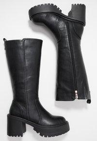 Coolway - BOR - Platform boots - black - 3
