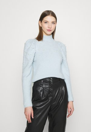 Sweter - pale blue