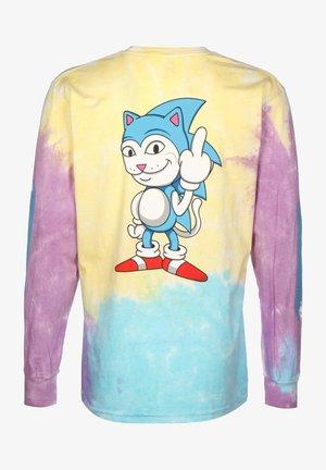 LONGSLEEVE NERMHOG - T-shirt med print - tie dye