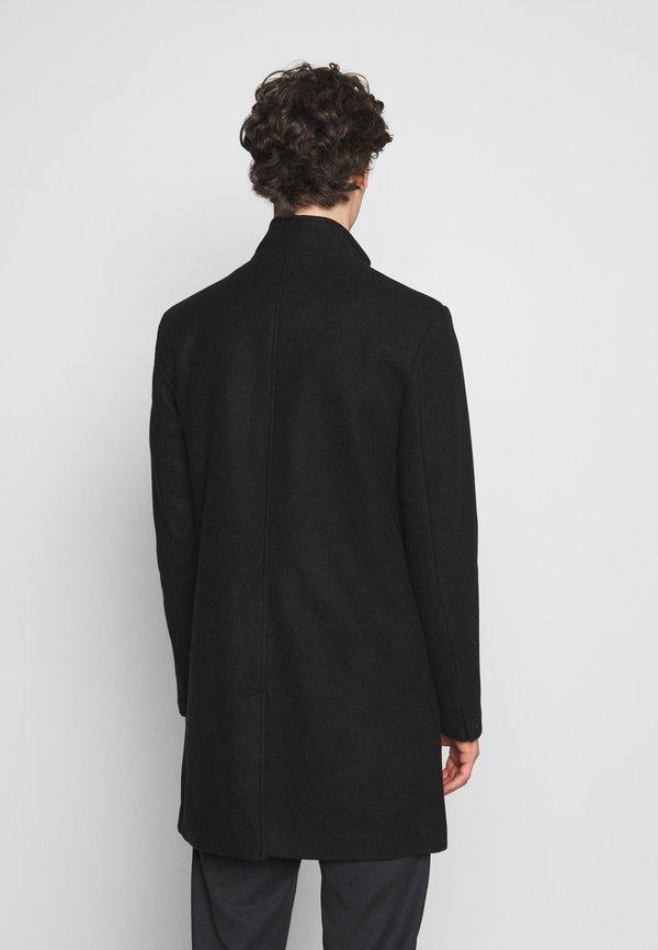 Only & Sons ONSOSCAR STAR COAT - Płaszcz wełniany /Płaszcz klasyczny - black/czarny Odzież Męska SERI