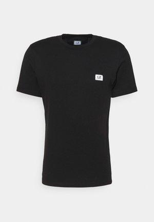 LOGO BADGE - Basic T-shirt - black