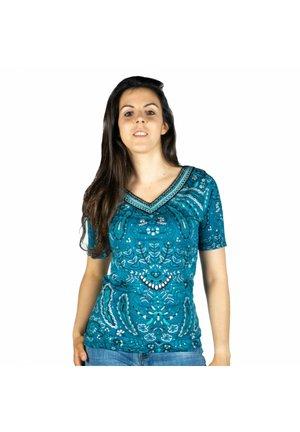 Camiseta estampada - antracita