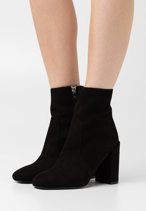 STIVALI BOOTS - High heeled ankle boots - nero
