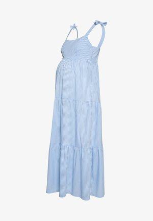 MARISSA - Sukienka letnia - blue/white