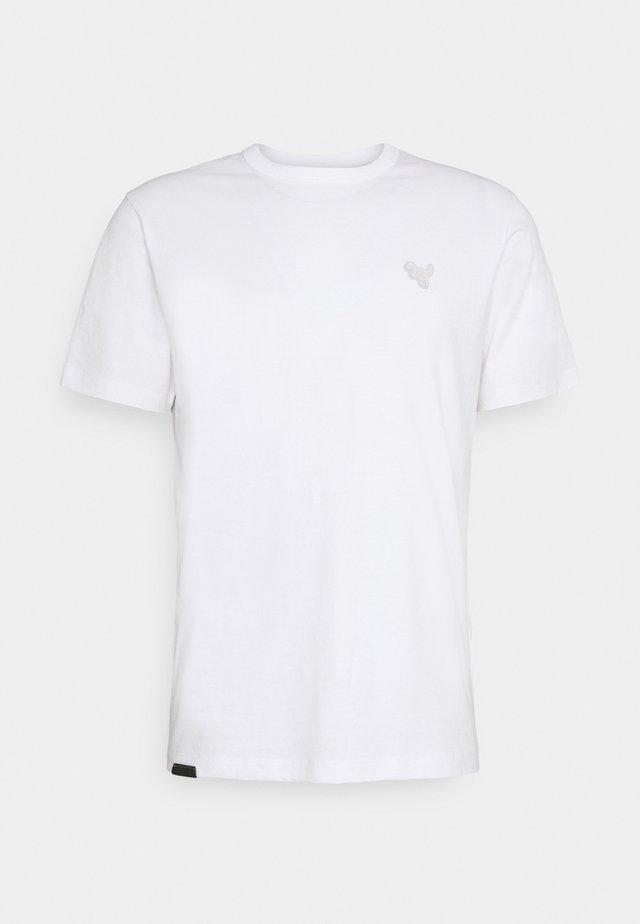 ESSENTIAL - Jednoduché triko - white