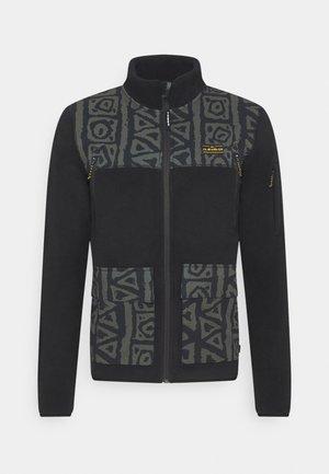LOST LATITUDE - Fleece jacket - black