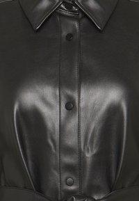 Freequent - HARLEY - Shirt dress - black - 2