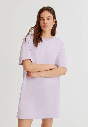 BASIC - Jednoduché triko - lilac