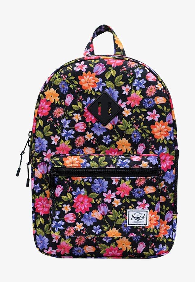 School bag - garden floral