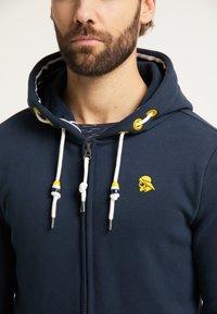 Schmuddelwedda - Zip-up sweatshirt - marine - 3