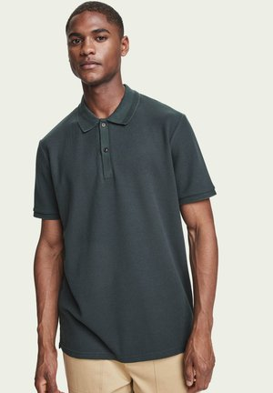 Polo shirt - lagoon green