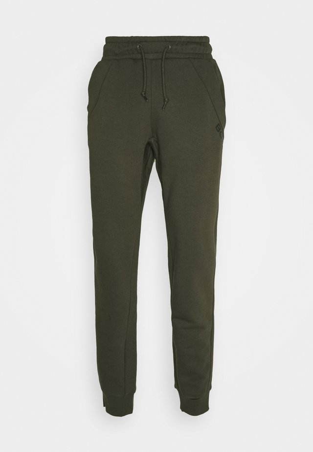 BB LOGO PANTS - Tracksuit bottoms - forest night