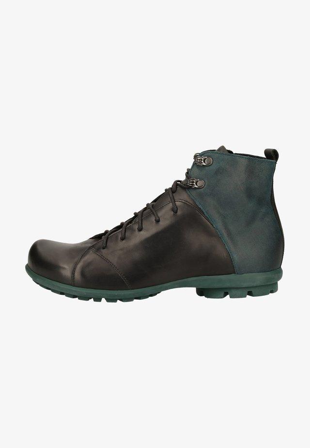 Lace-up ankle boots - sz/kombi 0010