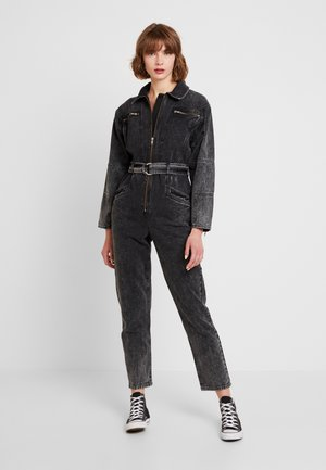 ACID BIKER BOILER - Jumpsuit - black denim