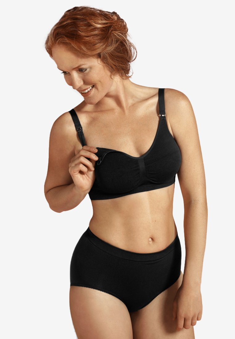 Carriwell - ORIGINAL MATERNITY & NURSING BRA  - Balconette bra - black