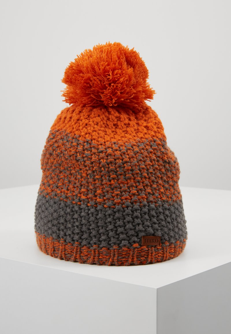 Maximo - KIDS - Beanie - rote erde/holzkohle