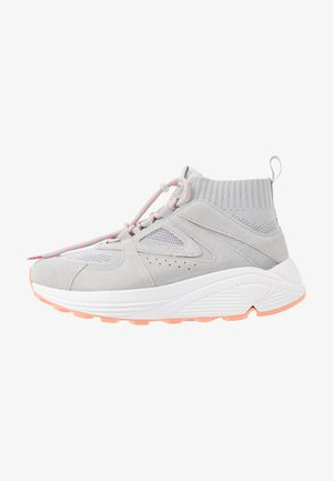 HORIZON RUNN - High-top trainers - grey