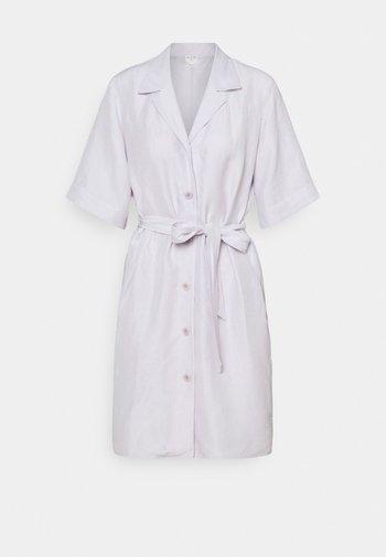 Shirt dress - light purple