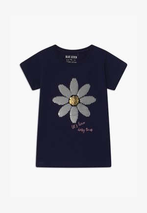 SMALL GIRLS DAISY  - Camiseta estampada - nachtblau