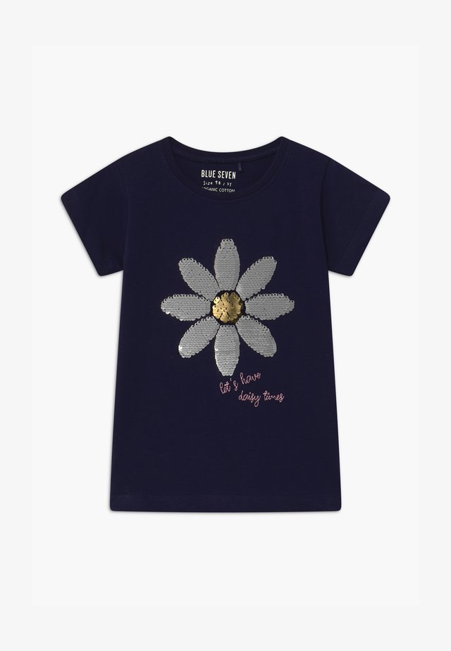 SMALL GIRLS DAISY  - T-shirt con stampa - nachtblau