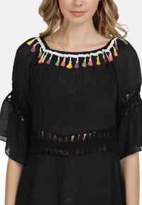 IZIA - IZIA KLEID - Day dress - schwarz - 3