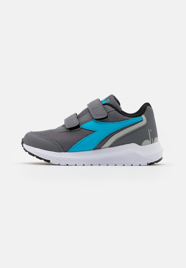JR UNISEX - Scarpe running neutre - steel gray/blue sapphire