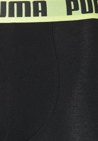 Puma - BASIC 2 PACK - Culotte - black/yellow - 4