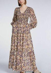 SET - Maxi dress - rose violett - 3