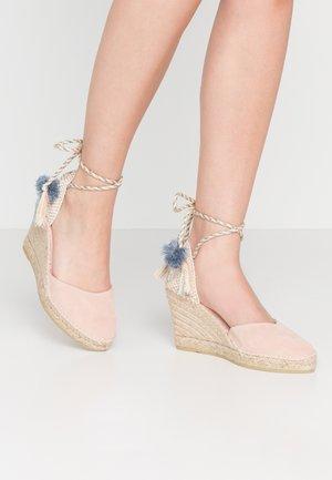 SIENNA - Sandály na vysokém podpatku - rosa