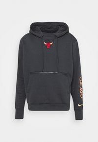 NBA CHICAGO BULLS CITY EDITION HOODIE - Club wear - anthracite