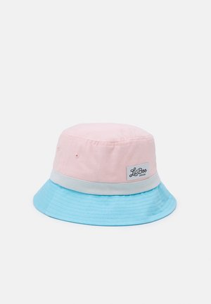 BLOCK BUCKET UNISEX - Hoed - pink/blue/blueish white
