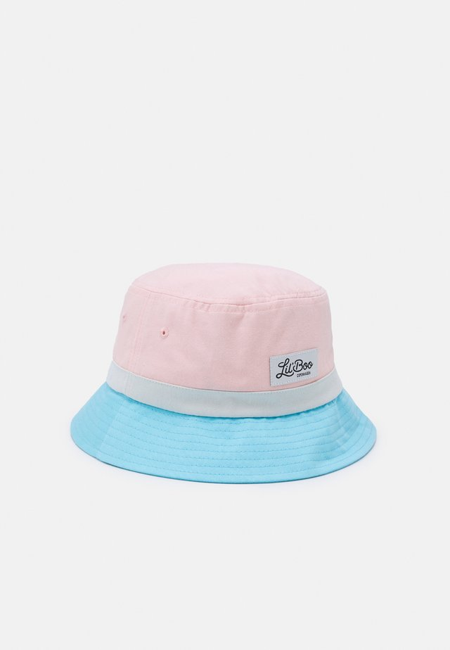 BLOCK BUCKET UNISEX - Klobouk - pink/blue/blueish white