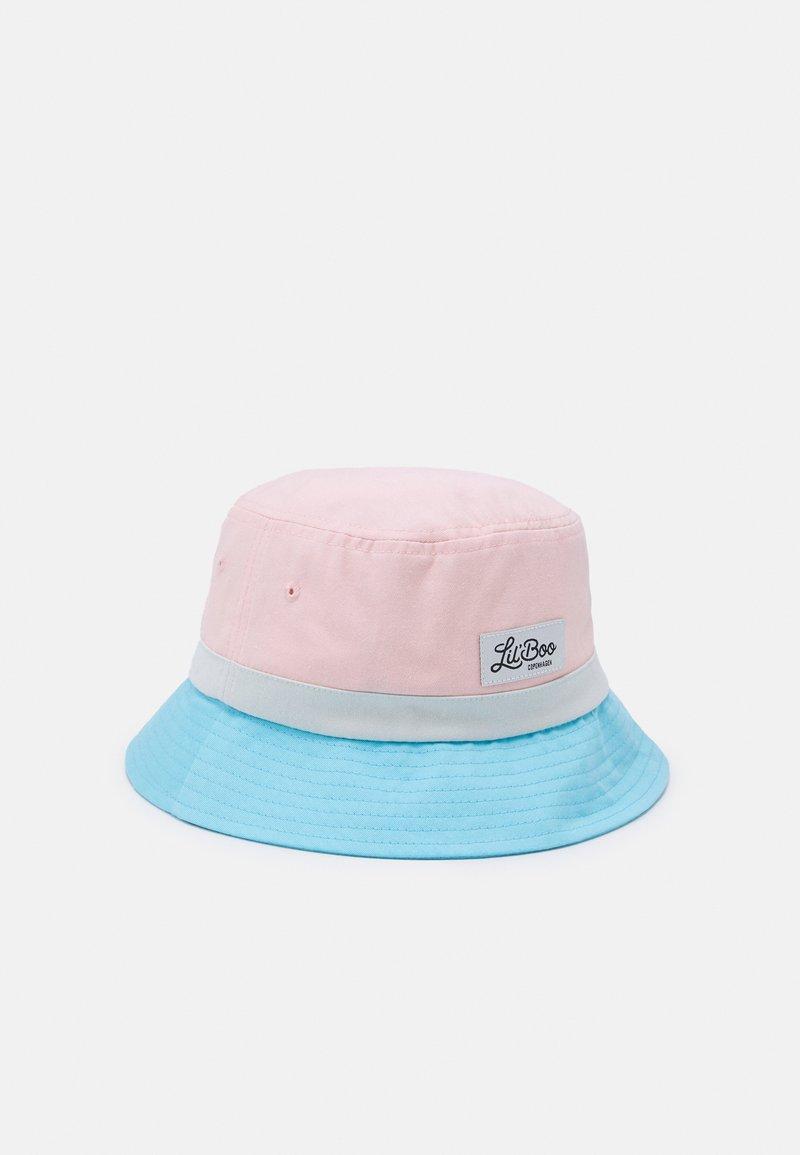Lil'Boo - BLOCK BUCKET UNISEX - Hat - pink/blue/blueish white