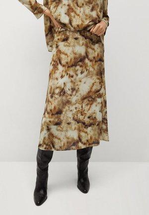 BESO-A - A-line skirt - marron