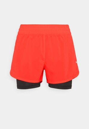 RUN FAVORITE - Sports shorts - lava blast/black