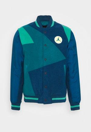 Bomber Jacket - valerian blue/geode teal/neptune green