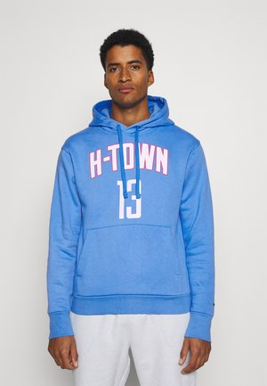 NBA HOUSTON ROCKETS JAMES HARDEN CITY EDITION NAME NUMBER HOOD - Article de supporter - coast/university red